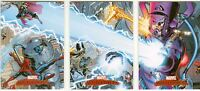 Marvel Masterpieces 2007 Complete Art Adams Splash Chase Card Set #1-3