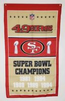 San Francisco 49ers Super Bowl Banner Flag 3x5 Ft Man Cave Wall Decor Gift NFL