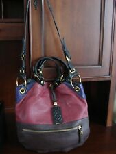 orYANY Pebble Leather Color block Sydney Large Hobo Handbag Shoulder Purse