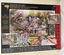 Plaid Paint by Number Victorian Cottage 21676 Painting Kit
