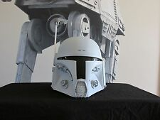 "Star Wars Universe Mandalorian Bounty Hunter ""DEFENDER"" Helmet Kit Merc Cosplay"