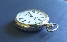 "Super Rare Vintage Molnija "" Zodiac "" Mechanical Pocket Watch USSR Soviet"