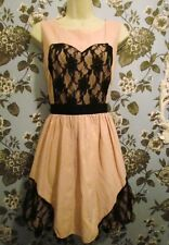 (16) 1950s rockabilly prom style sweetheart bodice dress Limited Edition size 14