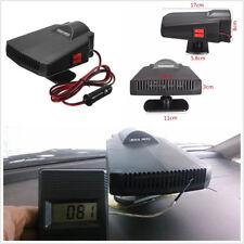 Portable 12V 200W Black Car Ceramic Heater Cooler Dryer Fan Defroster Demister