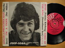 """DOWNLINERS SECT Lord Of The Ring / TOMMY KÖRBERG + 2 EP 45 7"""" 1969 Sweden"""