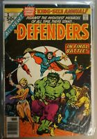 Defenders King Size Annual #1 1972 Marvel 1st Appearance SUNSET STRIP
