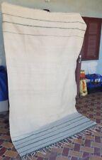 "Vintage Moroccan Azilal Handmade Rug Carpet Berber Wool 100% Rug 8'4"" x 4'11"""