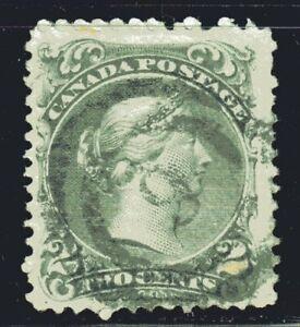 1868-1876 Canada SC# 24 Large Queen Issue-Queen Victoria-Lot CU34-Used