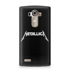 Fundas y carcasas mate de color principal negro para teléfonos móviles y PDAs LG