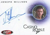 James Bond in Motion 2008 Joseph Millson as Carter Autograph Card A104