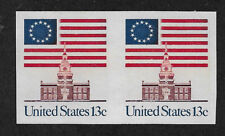 US # 1625a (1975) 13c - MNH - Superb centering - EFO:  {Imperforate pair}