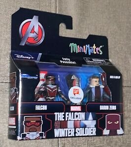 Walgreens Exclusive The Falcon & Winter Soldier Minimates Falcon & Baron Zemo