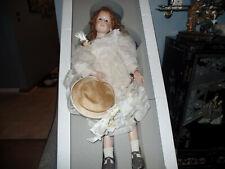 Hildegard Gunzel Annabel 1995  Wax Over Porcelain Art Doll limited to 25