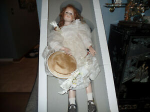 Hildegard Gunzel Annabel 1995  Wax Over Porcelain Art Doll limited to 25