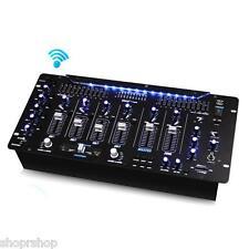PYLE PRO PYD1964B 6-Channel Bluetooth DJ Mixer NEW