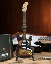 Axe Heaven Distressed SRV Custom Miniature Fender Strat Guitar Replica