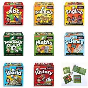 Tabletop BrainBox Mini Memory Card Brain Game Educational Child Stocking Filler