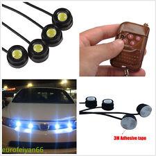 12V 12W Cree Eagle Eye White LED Car SUV Grille Daytime Running Light Flash Lamp