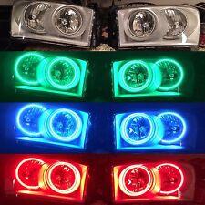 06-08 Dodge Ram 1500/2500/3500 Prebuilt Color match Led Rgb Halo Headlights