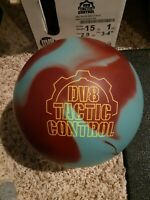 DV8 Tactic Control Urethane 1st Quality Bowling Ball | 15 Pounds | Pick Specs!