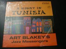 ART BLAKEY BLAKEY'S JAZZ MESSENGERS A NIGHT IN TUNISIA LP RECORD WITH SHRINK