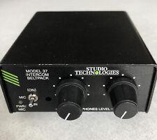 New listing Studio Technologies Model 37 Intercom Belt Pack