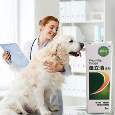 8ml Pets Dog Cat Anti-flea Drops Insecticide Flea Lice Insect Killer Liquid Bush