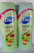 2 DIAL NATURALS MOISTURIZING Body Wash TANGERINE GUAVA