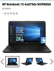 """HP Notebook 15-ba079dx 15.6"""" , 1TB, AMD Quad-Core A10-9600P 2.4Ghz Up To 3.3)"""
