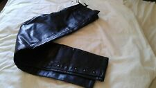 Gap faux leather pants with tag , never worn size 8, cozy inner