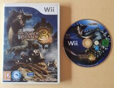 Jeu WII MONSTER HUNTER 3 TRI pour console NINTENDO WII