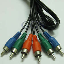 Component RGB Ypbpr HD Video Cable 3 RCA Male to Male Extention For DVD 5FT YG