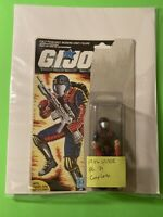 🔥1986 Hasbro Vintage GI Joe🔥COBRA VIPER 🔥 💯 Complete Figure + FULL CARD🔥