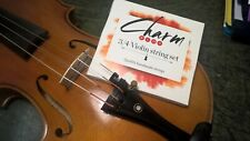 1 set For-tune 'Charm' Violin 3/4 size Violin String Set, EXTRA special price!