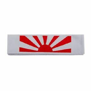 Martial Arts Headbands No 2 Rising Sun Karate Head Band Fancy Dress Costume CLEA