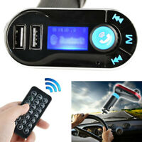 Wireless FM Transmitter MP3 Player Car Kit Charger for iPhone Samsung