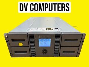 HP MSL 4048 48x slots Dual LTO3 Ultrium 960 Tape drives TAX INV Warranty