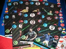 Panini Adrenalyn Euro 2016 limited Edition Set of 10 x shiny limited edition