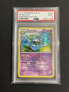 Pokemon MINT Reuniclus Secret Rare 2012 Dragons Exalted PSA 9 #126