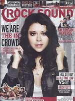 Rock Sound Magazine Tay Jardine Your Demise Fall In Reverse Fall Out Boy 2014