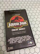 Jurassic Park película en cinta VHS