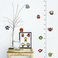 Removable Height Chart Measure Kids Growth Wall Sticker Decal for Kids Baby pvc