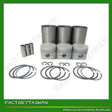 Liner Piston Kit Set STD for KUBOTA D1005 (Liner x 3 + Piston x 3 + Ring x 3)