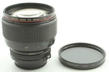 [EXCELLENT++] Canon New FD NFD 85mm f/1.2 L MF Portrait Lens From Japan 481
