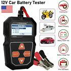 KONNWEI Auto Car Battery Load Tester Automotive Analyzer Voltage Test 12V J2P6