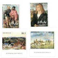 MODERN GEMS - Maldives - Albrecht Durer - Set Of 4 Stamps - MNH