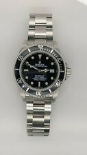 Rolex Sea Dweller 16600 Steel Automatic Watch - 40mm - Box & Papers - Unpolished
