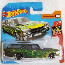 2019 Hot Wheels '70 CHEVELLE SS WAGON 56/250 ~ 3/10 HW FLAMES [Green] - NIB
