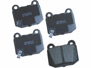 For 2004 Infiniti G35 Brake Pad Set Rear Bendix 72398VT