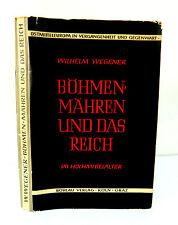 BÖHMEN, MÄHREN UND DAS REICH IM HOCHMITTELALTER -Wilhem WEGENER- Ed BÖHLAU 1959